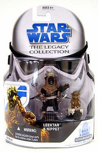 Star Wars 2008 Legacy Collection Build-A-Droid Action Figure BD No. 04 Ewoks: Leektar & Nippett 2-Pack