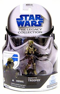 Star Wars 2008 Legacy Collection Build-A-Droid Action Figure GH No. 02 Kashyyyk Scout Trooper