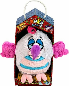 KooKoo Birds 6 Inch Plush Slow-Moving, Bulbous-Beaked Dealybopper