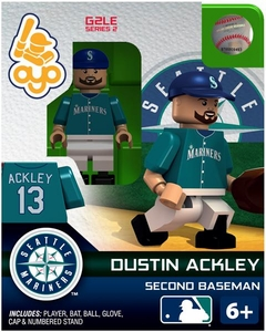 OYO Baseball MLB Generation 2 Building Brick Minifigure Dustin Ackley [Seattle Mariners]
