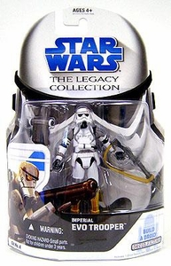 Star Wars 2008 Legacy Collection Build-A-Droid Action Figure GH No. 04 Force Unleashed Imperial Evo Trooper