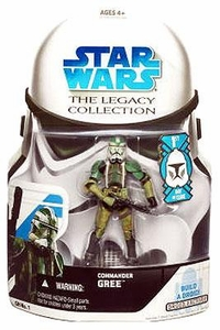 Star Wars 2008 Legacy Collection Build-A-Droid Action Figure GH No. 01 Commander Gree [First Day of Issue]