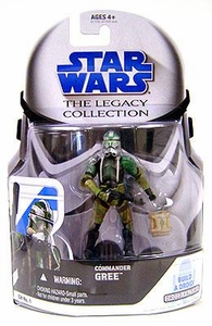Star Wars 2008 Legacy Collection Build-A-Droid Action Figure GH No. 01 Commander Gree