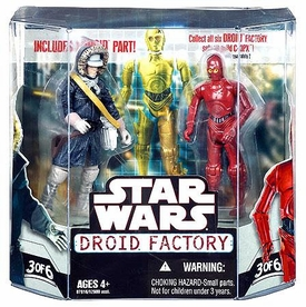Star Wars Saga 2008 Build-A-Droid Exclusive Action Figure 2-Pack Han Solo [Hoth Gear] & R-3PO