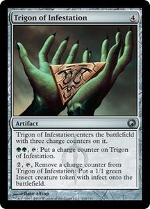 Magic the Gathering Scars of Mirrodin Single Card Uncommon #214 Trigon of Infestation
