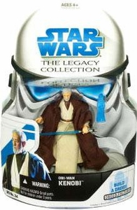 Star Wars 2008 Legacy Collection Build-A-Droid Action Figure BD No. 34 Obi-Wan Kenobi