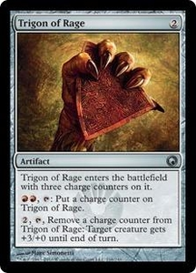 Magic the Gathering Scars of Mirrodin Single Card Uncommon #216 Trigon of Rage