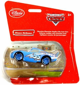 Disney Pixar Cars Exclusive 1:48 Die Cast Car Dinoco McQueen