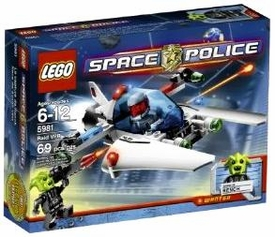 LEGO Space Police Set #5981 Raid VPR