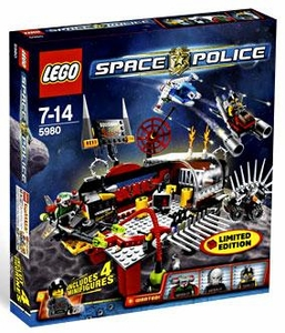 LEGO Space Police Exclusive Set #5980 Squidman's Pitstop