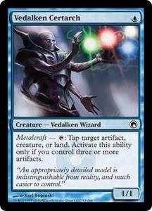 Magic the Gathering Scars of Mirrodin Single Card Common #52 Vedalken Certarch