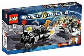 LEGO Space Police Set #5970 Freeze Ray Frenzy