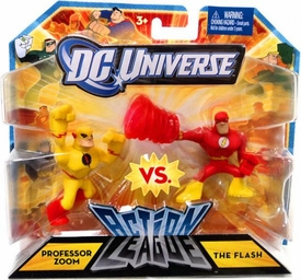 DC Universe Action League Mini Figure 2-Pack Professor Zoom & The Flash