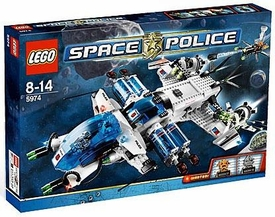 LEGO Space Police Set #5974 Galactic Enforcer