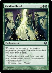 Magic the Gathering Scars of Mirrodin Single Card Uncommon #132 Viridian Revel