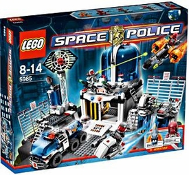 LEGO Space Police Set #5985 Space Police Central