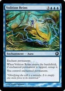 Magic the Gathering Scars of Mirrodin Single Card Uncommon #53 Volition Reins