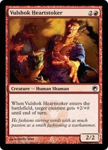 Magic the Gathering Scars of Mirrodin Single Card Common #107 Vulshok Heartstoker