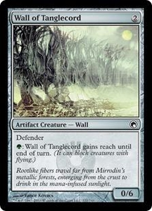 Magic the Gathering Scars of Mirrodin Single Card Common #222 Wall of Tanglecord