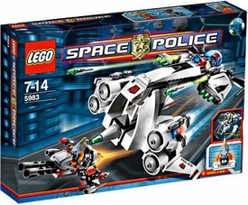 LEGO Space Police Set #5983 Undercover Cruiser