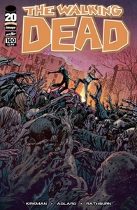 Image Comic Books The Walking Dead #100 Bryan Hitch Cover