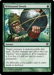 Magic the Gathering Scars of Mirrodin Single Card Common #134 Withstand Death