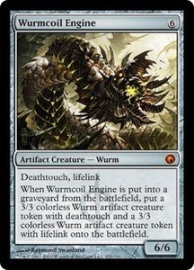 Magic the Gathering Scars of Mirrodin Single Card Mythic Rare #223 Wurmcoil Engine