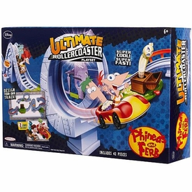 Disney Phineas & Ferb Across 2nd Dimension Playset Ultimate Rollercoaster BLOWOUT SALE!