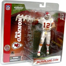 McFarlane Toys NFL Sports Picks Series 6 Action Figure Rich Gannon (Kansas City Chiefs) Retro White Jersey Variant BLOWOUT SALE!