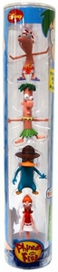 Disney Phineas and Ferb Exclusive PVC Mini Figure Collector 4-Pack [Phineas, Ferb, Agent P & Candace]