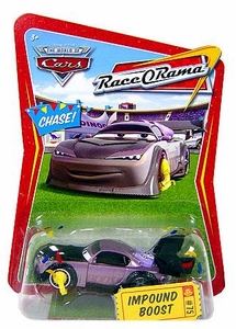Disney / Pixar CARS Movie 1:55 Die Cast Car Series 4 Race-O-Rama Impound Boost Chase Piece!