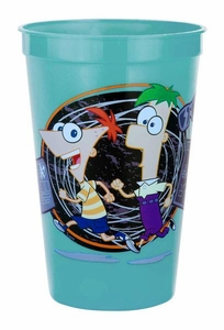 Phineas and Ferb 16oz. Tumbler Cup