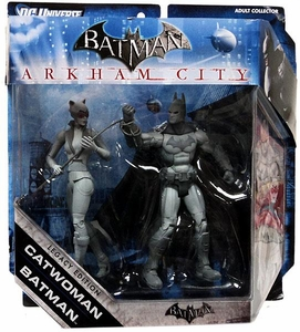 DC Batman Legacy Edition Action Figure 2-Pack Batman & Catwoman {Black & White Variant} [Arkham City]