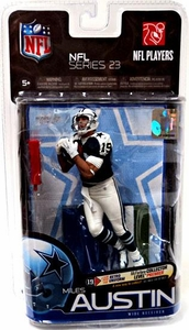 McFarlane Toys NFL Sports Picks Series 23 Action Figure Miles Austin (Dallas Cowboys) Thanksgiving Day Jersey All Star Collector Level Chase Only 250 Made!