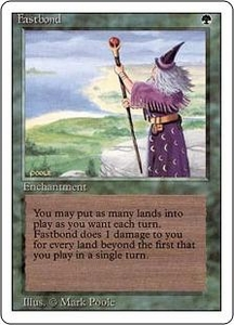 Magic the Gathering Revised Edition Single Card Rare Fastbond