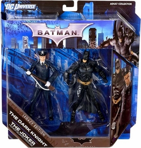 DC Batman Legacy Edition Action Figure 2-Pack Batman & The Joker {Police Honor Guard} [Dark Knight Returns]