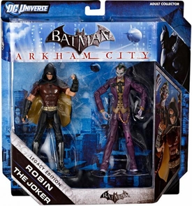 DC Batman Legacy Edition Action Figure 2-Pack Robin & The Joker [Arkham City]