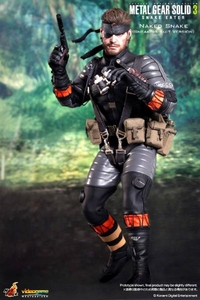 Hot Toys Metal Gear Solid 3 Snake Eater 12 Inch Deluxe Action Figure Naked Snake [Sneaking Suit Version]