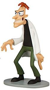 Disney Phineas and Ferb Exclusive 3.5 Inch PVC LOOSE Figure Dr. Doofenshmirtz