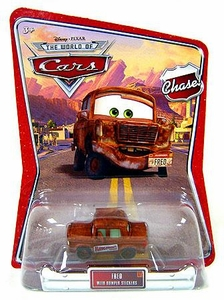 Disney / Pixar CARS Movie 1:55 Die Cast Car Series 3 World of Cars Bumper Stickers Fred Chase Piece!