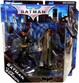 DC Batman Legacy Edition Action Figure 2-Pack Prototype Suit Batman & Lt. Jim Gordon [Batman Begins]