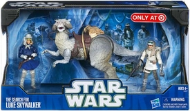 Star Wars 2011 Clone Wars Exclusive Vehicle & Action Figure Search For Luke Skywalker
