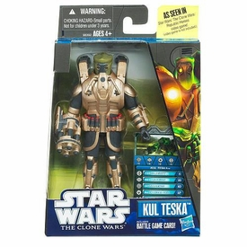 Star Wars Clone Wars Video Game Exclusive Action Figure Kul Teska