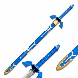 Legend of Zelda 42 Inch Metal Replica Master Sword [Blue Version]