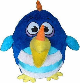 KooKoo Daddy Birds 12 Inch DELUXE Plush Horn-Billed, Mild-Mannered GoogleFinch [with Sound!]