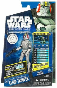 Star Wars 2011 Clone Wars Exclusive Action Figure Stealth Operations Clone Trooper [Includes Blaster]
