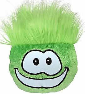 Disney Club Penguin 4 Inch Series 4 Plush Puffle Green [Includes Coin with Code!]