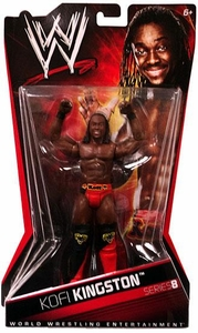 Mattel WWE Wrestling Basic Series 8 Action Figure Kofi Kingston BLOWOUT SALE!