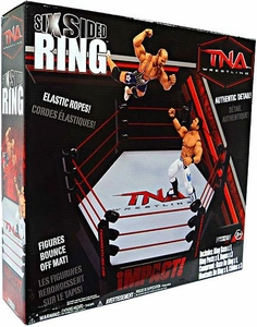 TNA Wrestling Playset Six Sided Ring