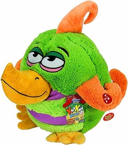 KooKoo Daddy Birds 12 Inch DELUXE Plush Blabbering, Lethargic Gindlesimp [with Sound!]